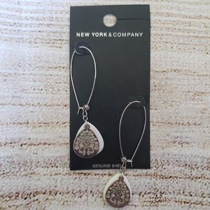 3 for $25 New York & Co Silver and Shell Earrings
